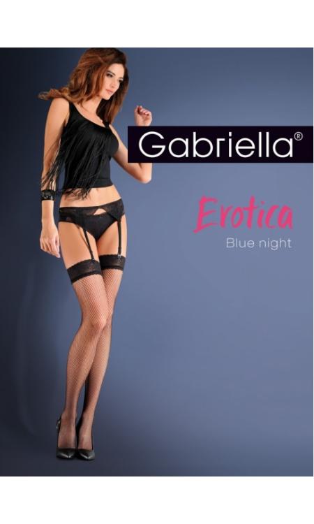GABRIELLA Erotica Blue Night necc combfix + harisnyatartó