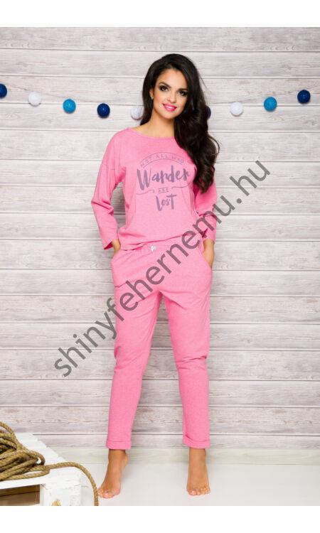 JURATA Pink női pizsama
