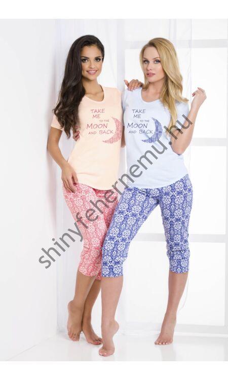 MALINA Moon Blue női pizsama