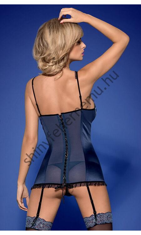 AURORIA fehérnemű,  szexi corset + tanga