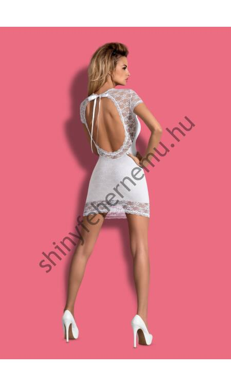 DRESSITA White szexi dress+tanga