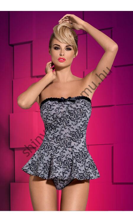ARGENTA szexi corset, fűző + tanga