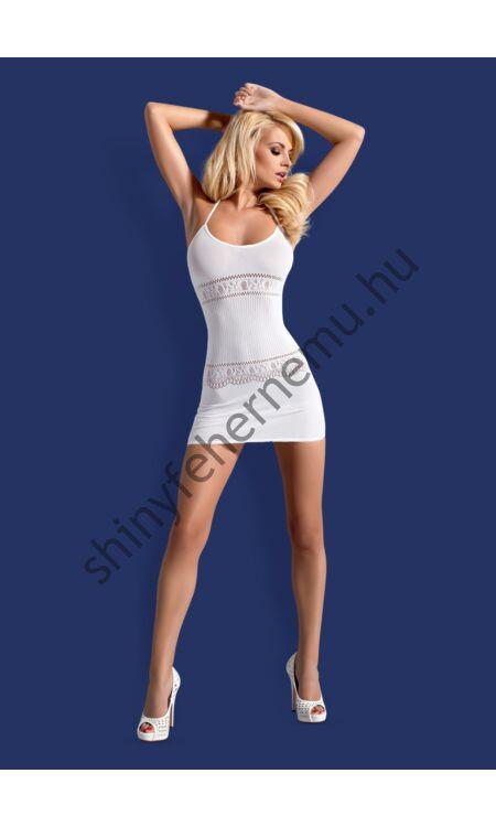 D307 White dress, szexi fehérnemű