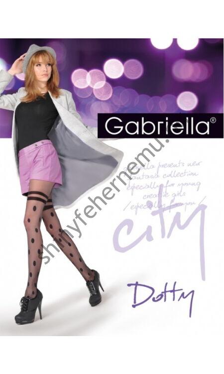 GABRIELLA---Dotty mintás harisnyanadrág