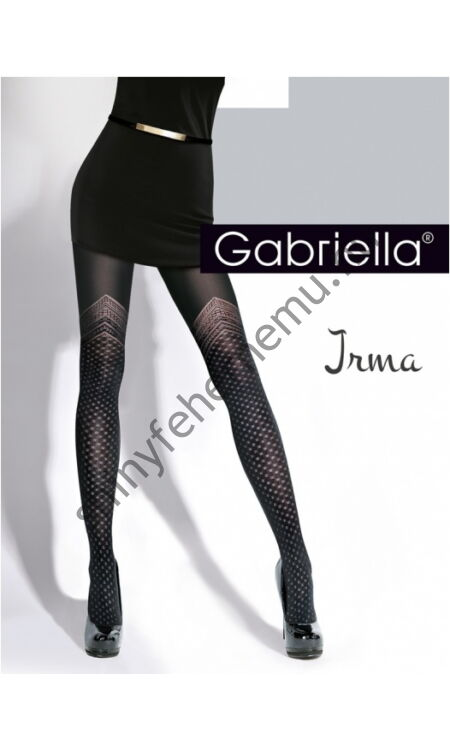GABRIELLA Irma comfix mintás harisnya