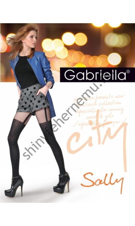 GABRIELLA Sally combfix mintás harisnya