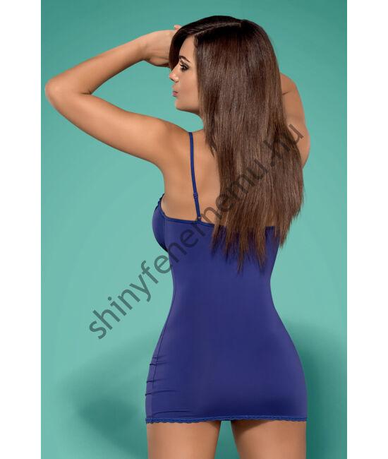 BLACKARDI Blue fehérnemű, szexi hálóing + tanga