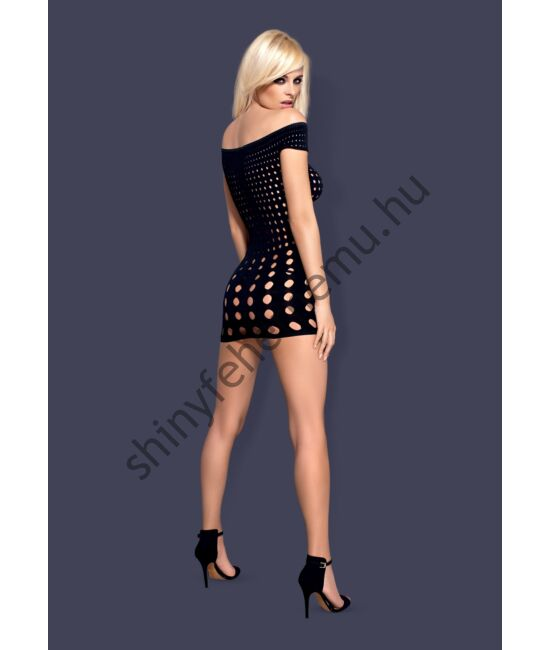 ROCKER Short Dress black, szexi dress