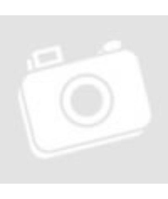 Kapucnis kezeslábas női pizsama kockás s.pink-fehér