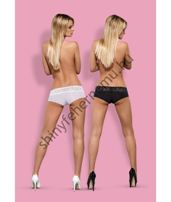 LACEA Shorties White+Black, duo pack (2db)