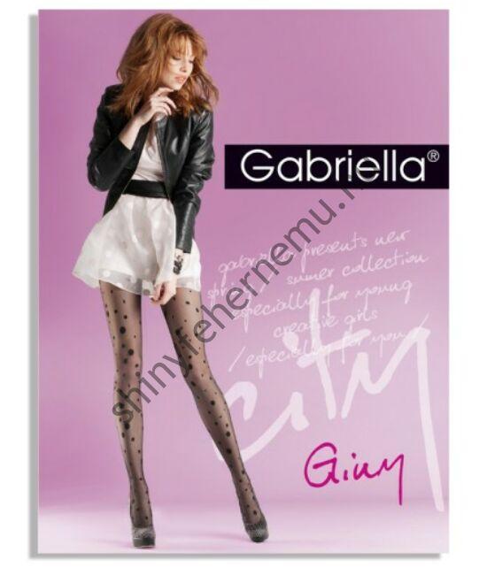 GABRIELLA Giny Nero 20den harisnyanadrág