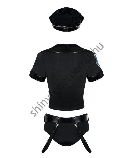 police-szett-fehernemu-5-reszes-erotikus-jelmez