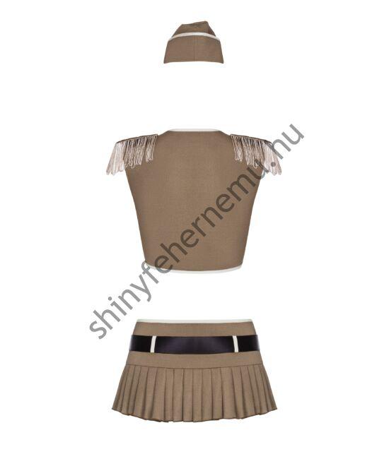 814-cst-szexi-uniform-fehernemu-4-reszes-erotikus-jelmez