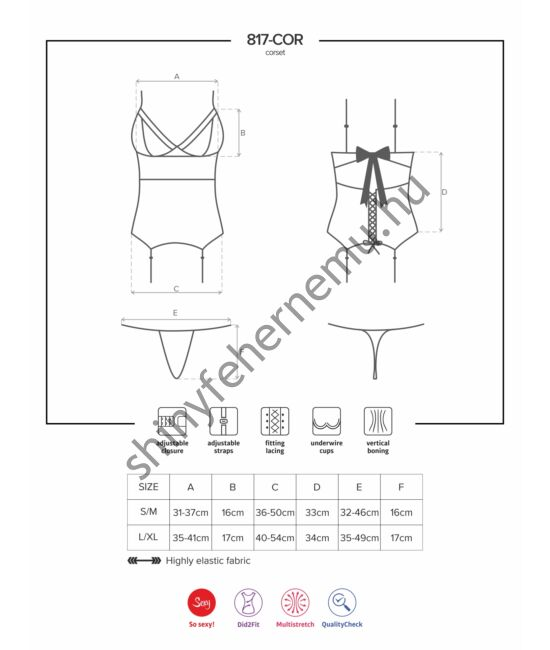 817_black_fehernemu_szexi_merevitos_corset_tanga