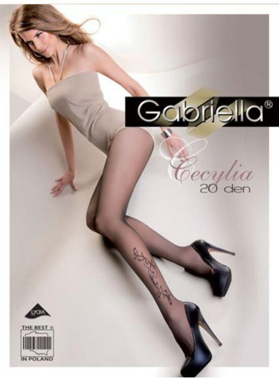 GABRIELLA Cecylia Black 20den harisnyanadrág