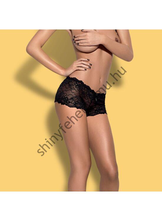 IMPERIA Black shorties, szexi női alsó