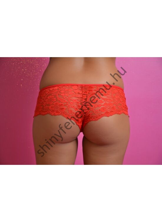 LISA csipke francia tanga-red
