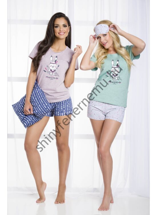 MATYLDA Bunny Grey női pizsama