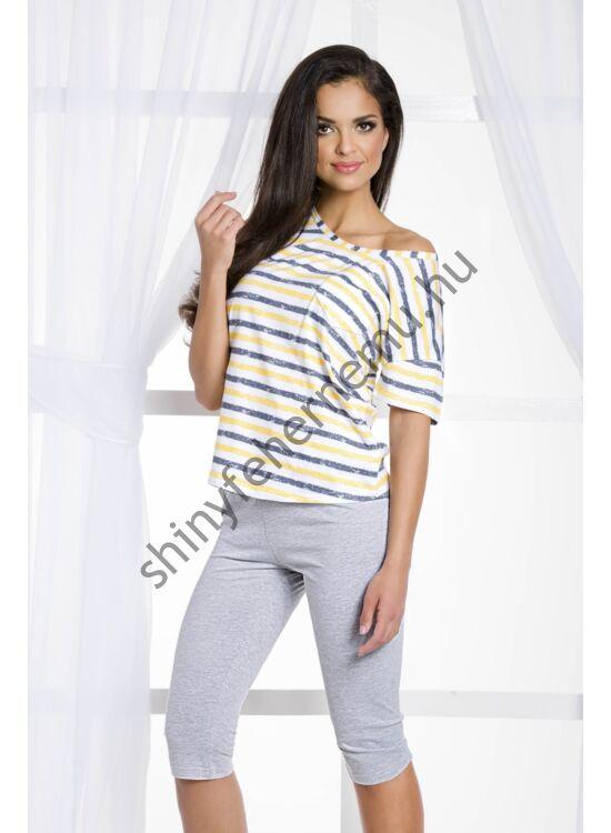 REBEKA Yellow női pizsama