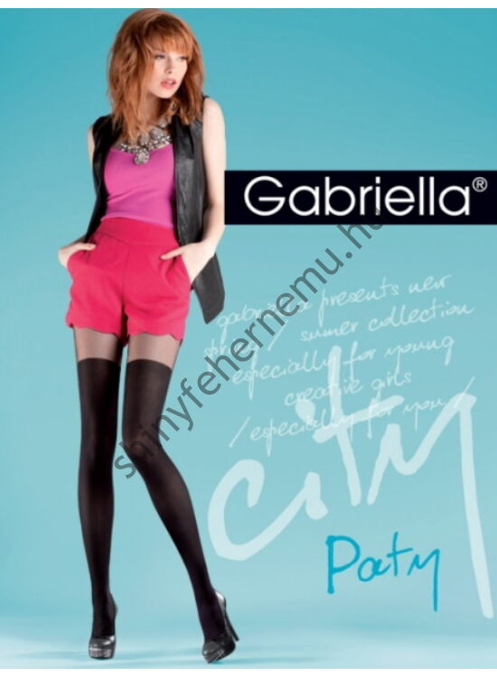 GABRIELLA Paty 20den harisnyanadrág