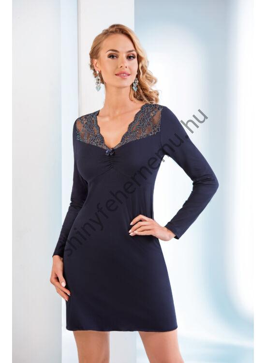 MERY Dark Blue női hálóing