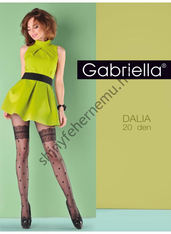 GABRIELLA Dalia Nero 20den harisnyanadrág