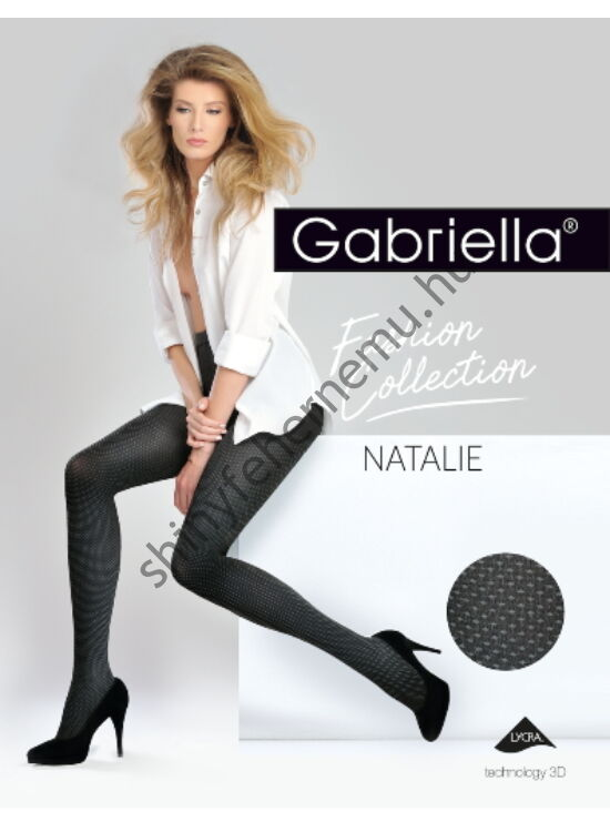 GABRIELLA Natalie Black harisnyanadrág