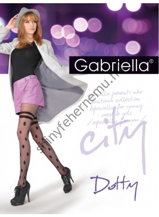 GABRIELLA Dotty mintás harisnyanadrág